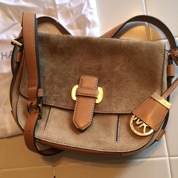 32addba63cb636 Michael Kors Bags   Leather Messenger Romy New With Tags   Poshmark